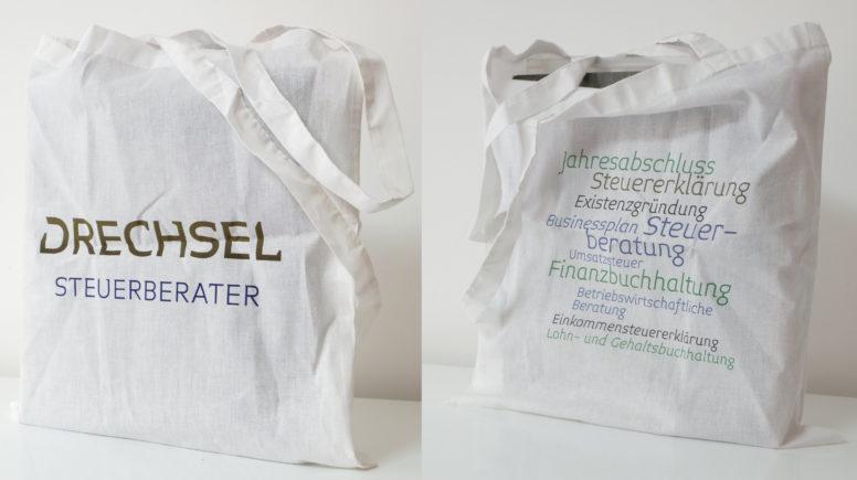 Kanzleimarketing für Steuerberater Drechsel: Branding Tasche