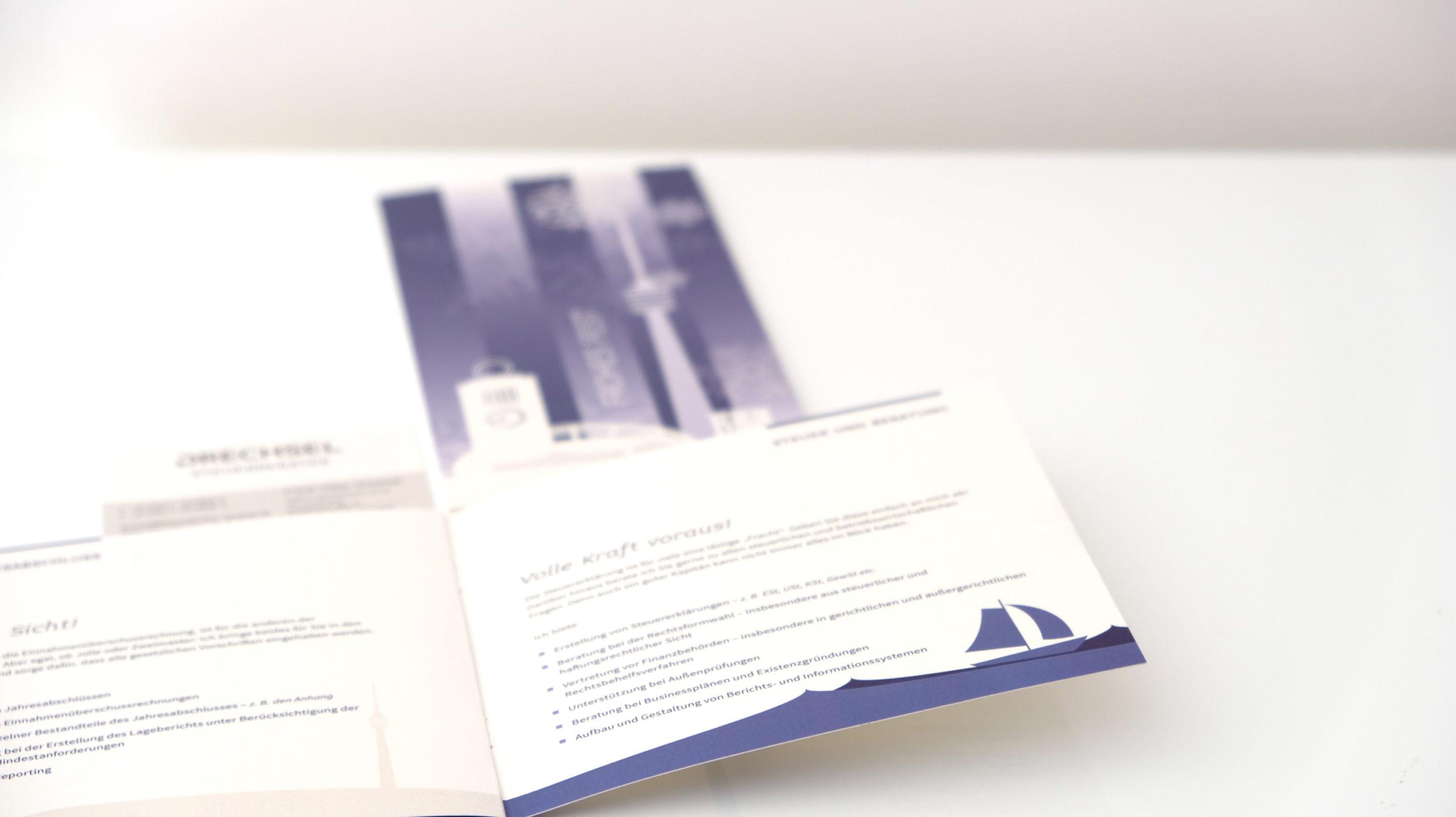 Steuerberater Drechsel Broschuere